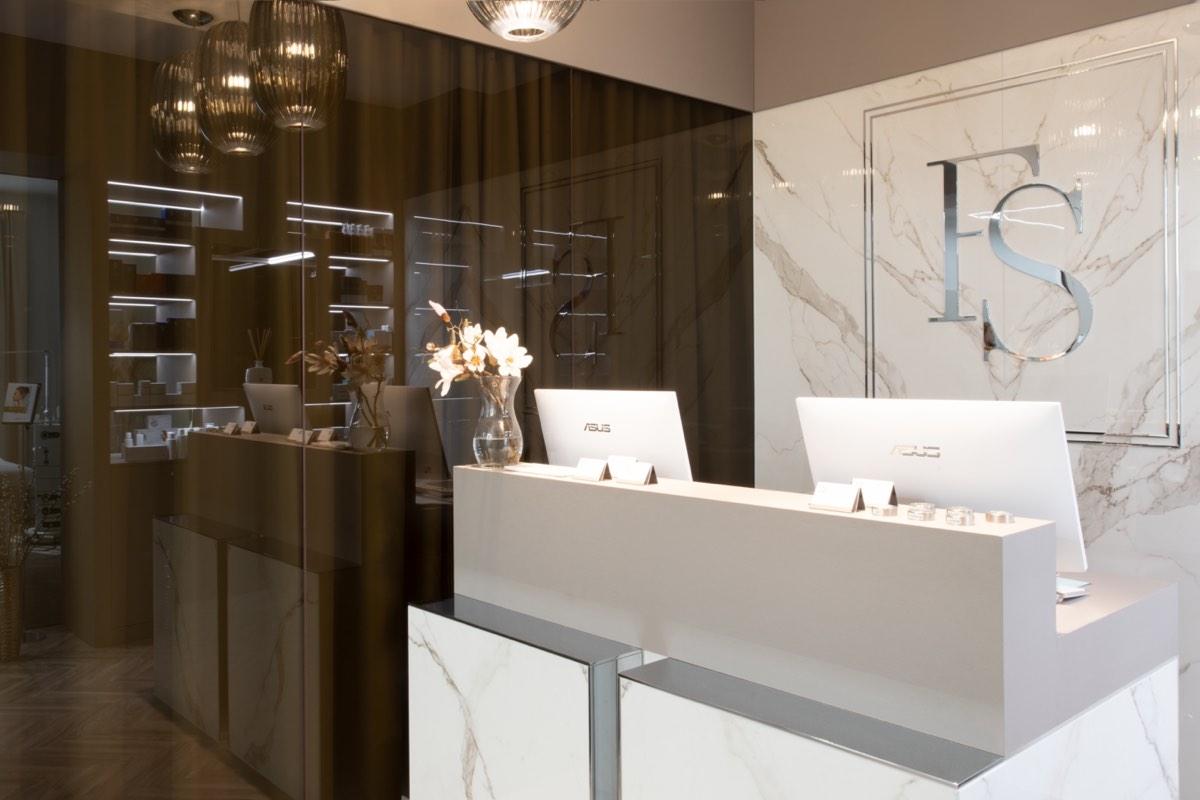 Behandlungszimmer im Schönheitsinstitut FineSkin Bellevue