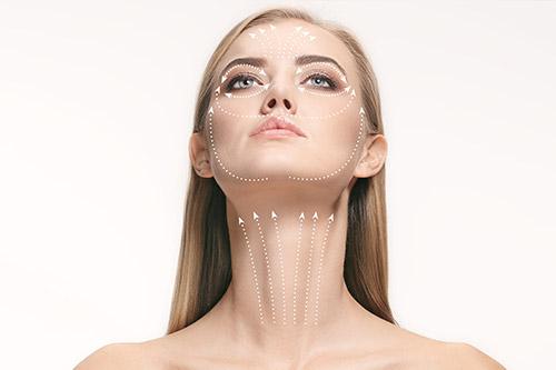 Das Fadenliftung sorgt für einen langanhaltenden straffenden Effekt in Ihrem Gesicht.